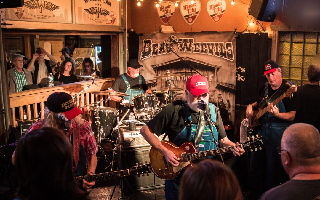 Charlie Daniels Nashville Pop-Up Show Packed Out for First-Ever 'Beau Weevils' Performance