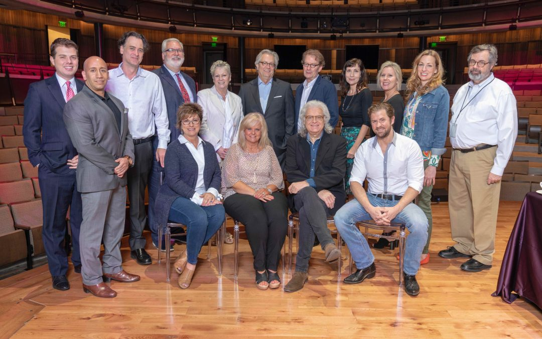 (Photo Release) Ricky Skaggs Lunches with Country Music Hall of Fame® and Museum Staff