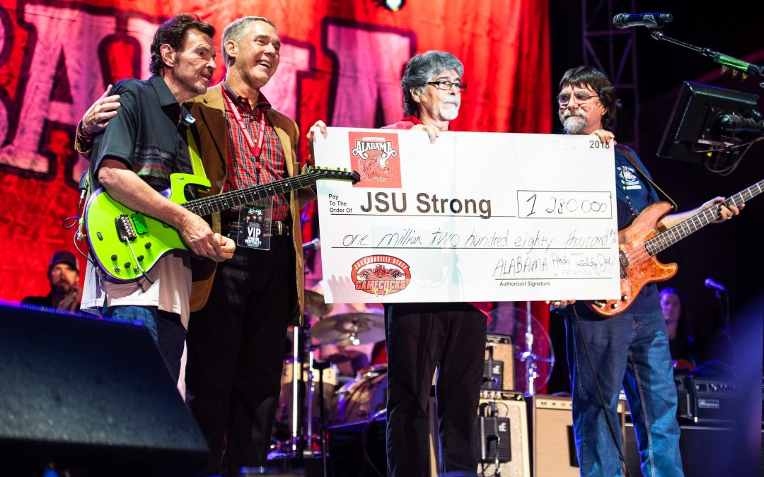 'ALABAMA & Friends' #JSUStrong Tornado Relief Concert Raises Over $1 Million for Jacksonville State University