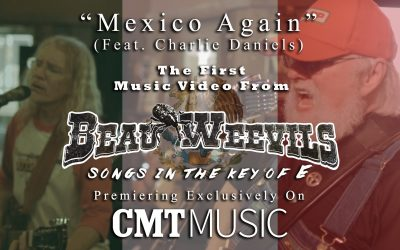 """WORLD PREMIERE: CMT DEBUTS NEW CHARLIE DANIELS """"MEXICO AGAIN"""" MUSIC VIDEO FEATURING THE BEAU WEEVILS"""