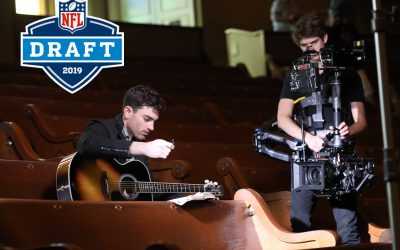 NFL Recruits Country Singer Cody Webb to Star in Draft Intro Video
