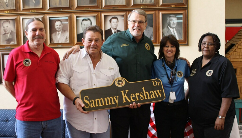 'Sammy Kershaw Drive' Unveiled in Country Singer's Hometown of Kaplan, Louisiana