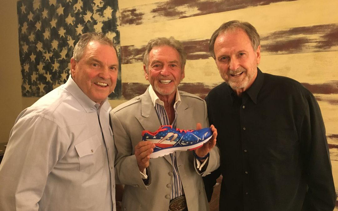 The Gatlin Brothers Release New Sneakers to Aid Families of Fallen Military Heroes