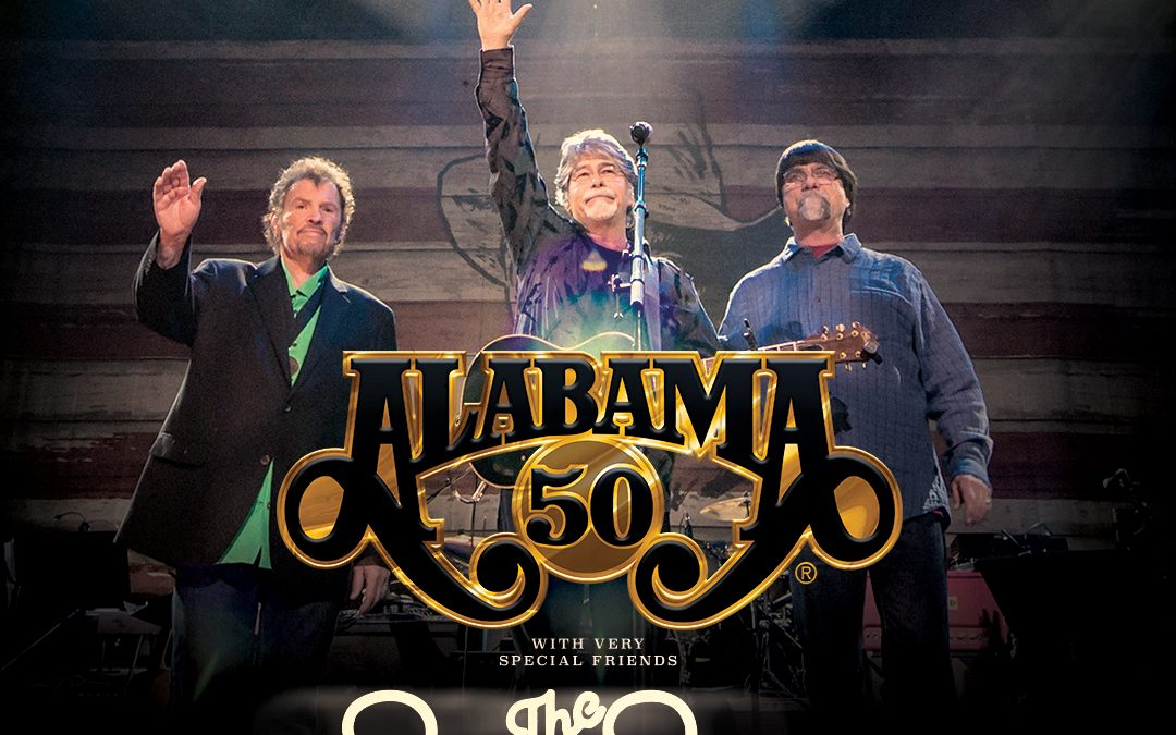 "ALABAMA Recruits The Beach Boys for ""50th Anniversary Tour"" Concert Stop in Wichita, KS"
