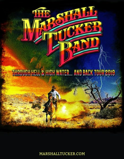 "The Marshall Tucker Band Reveals Second Leg of 2019 ""Through Hell & High Water… and Back"" Tour"