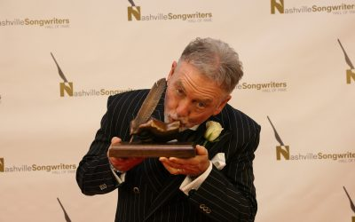 Larry Gatlin Formally Inducted Into Nashville Songwriters Hall of Fame