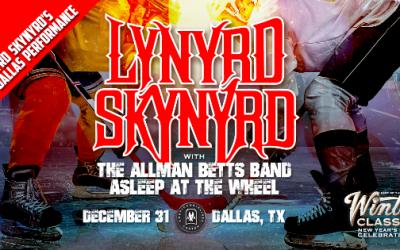 Lynyrd Skynyrd to Headline Classic Rock NYE Concert in Dallas, Texas