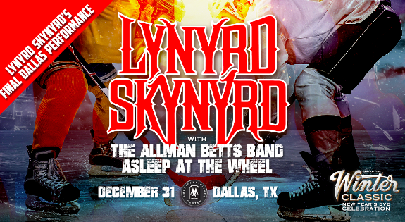 Lynyrd Skynyrd to Headline Classic Rock NYE Concert in Dallas, Texas
