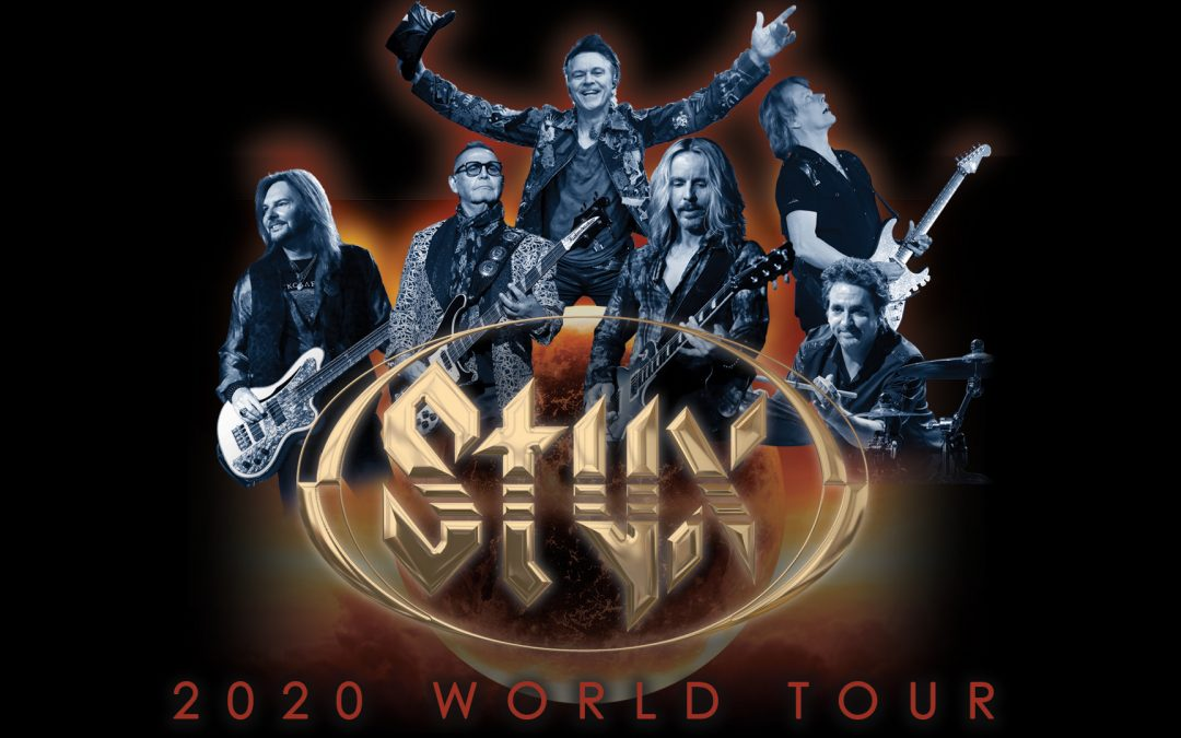STYX Brings 2020 World Tour to Historic Ryman Auditorium this Spring