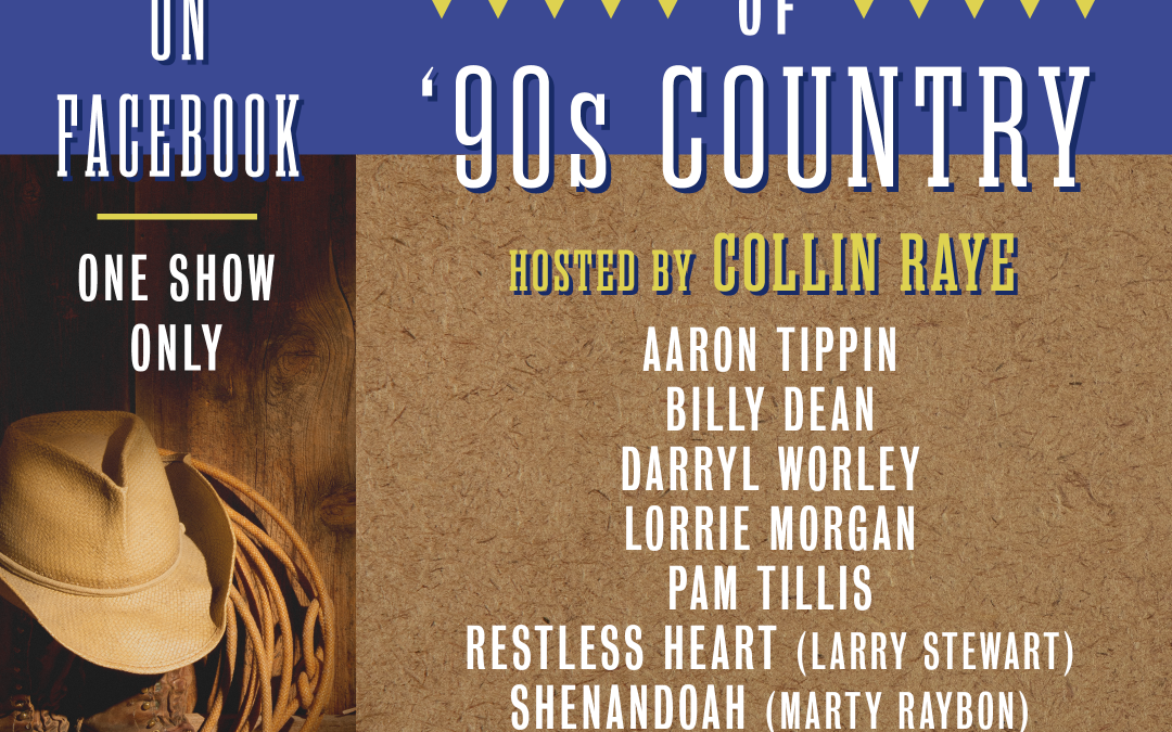 CMT PRESENTS 90 MINUTES OF '90s COUNTRY, HOSTED BY COLLIN RAYE