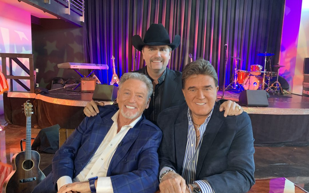 Tune-in Alert: Larry Gatlin & TG Sheppard Appear on Fox Nation's 'The Pursuit! with John Rich'