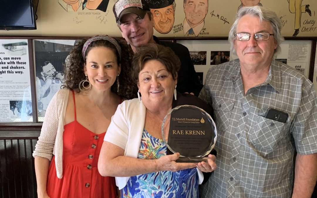 Nashville Legend Rae Krenn Receives T.J. Martell Foundation's First Sunshine Award