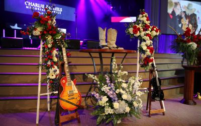 Country and Southern Rock Great Charlie Daniels Laid to Rest