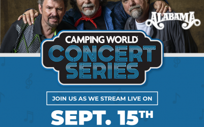 ALABAMA Set to Kick Off Free Camping World®  Concert Series