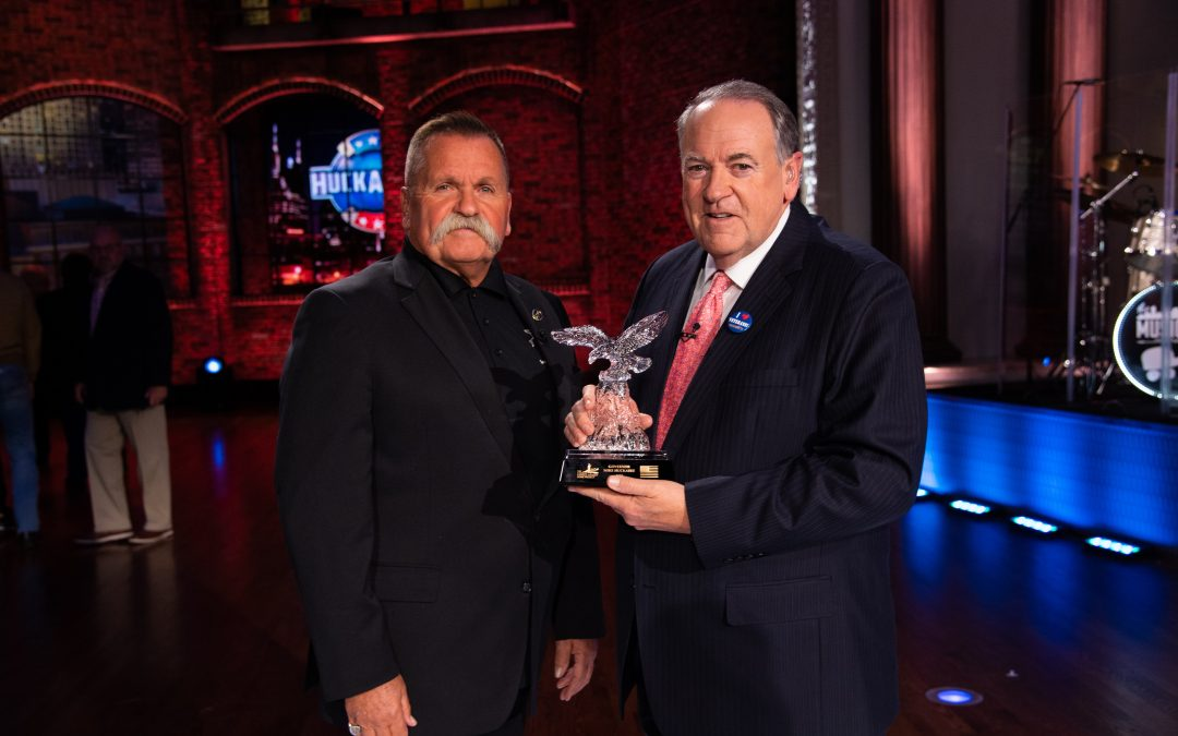 Mike Huckabee Honored with 2020 Charlie Daniels Patriot Award