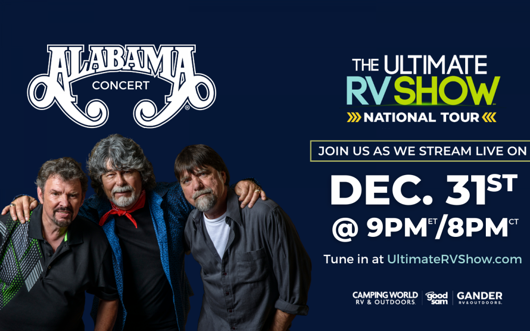 ALABAMA Reveals FREE New Year's Eve Concert, Courtesy of Camping World®