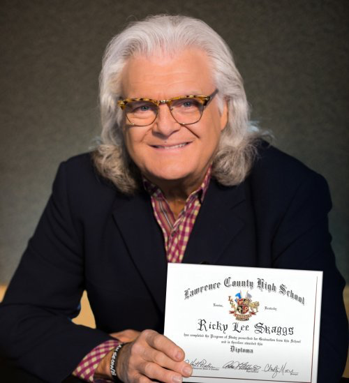 Ricky Skaggs Receives High School Diploma