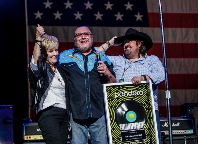 Charlie Daniels Posthumously Receives Pandora Billionaire Award
